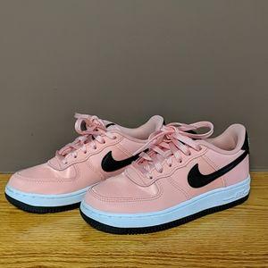 NEW Nike Air Force 1 Black & Pink Sneakers